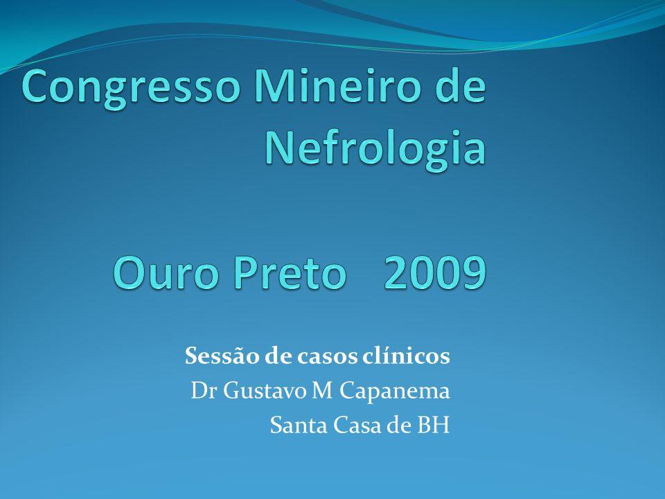 Sessão de casos clínicos Dr Gustavo M Capanema Santa Casa de BH