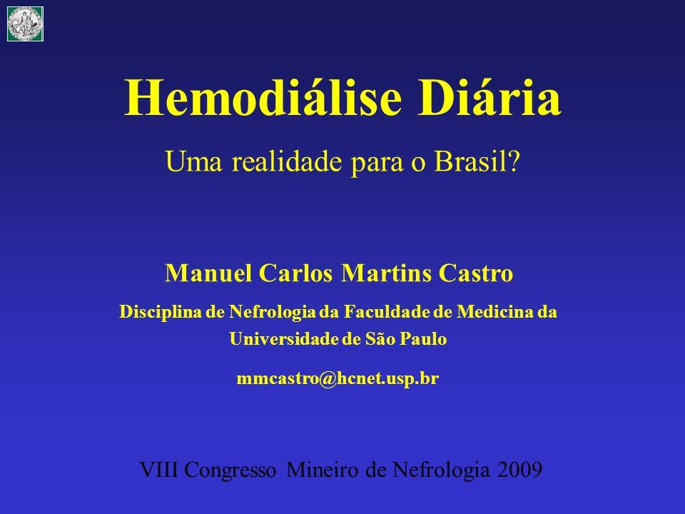 HD 3 x 8 h (n = 712) (Tassin) Home Hemodial Int 3:16, 1999 CMN2009