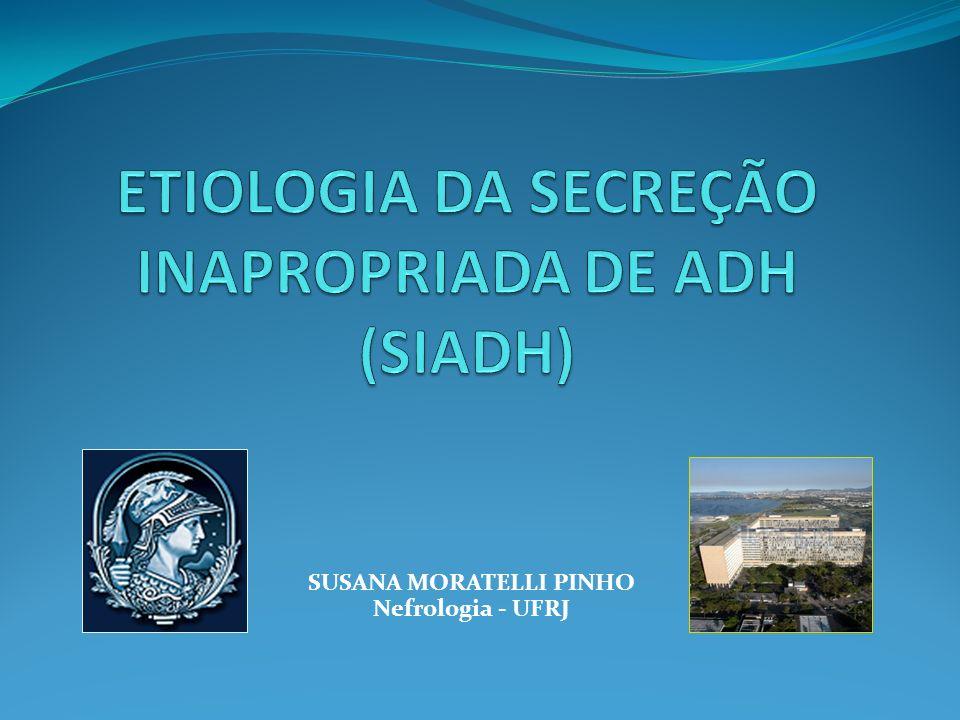 SUSANA MORATELLI PINHO Nefrologia - UFRJ