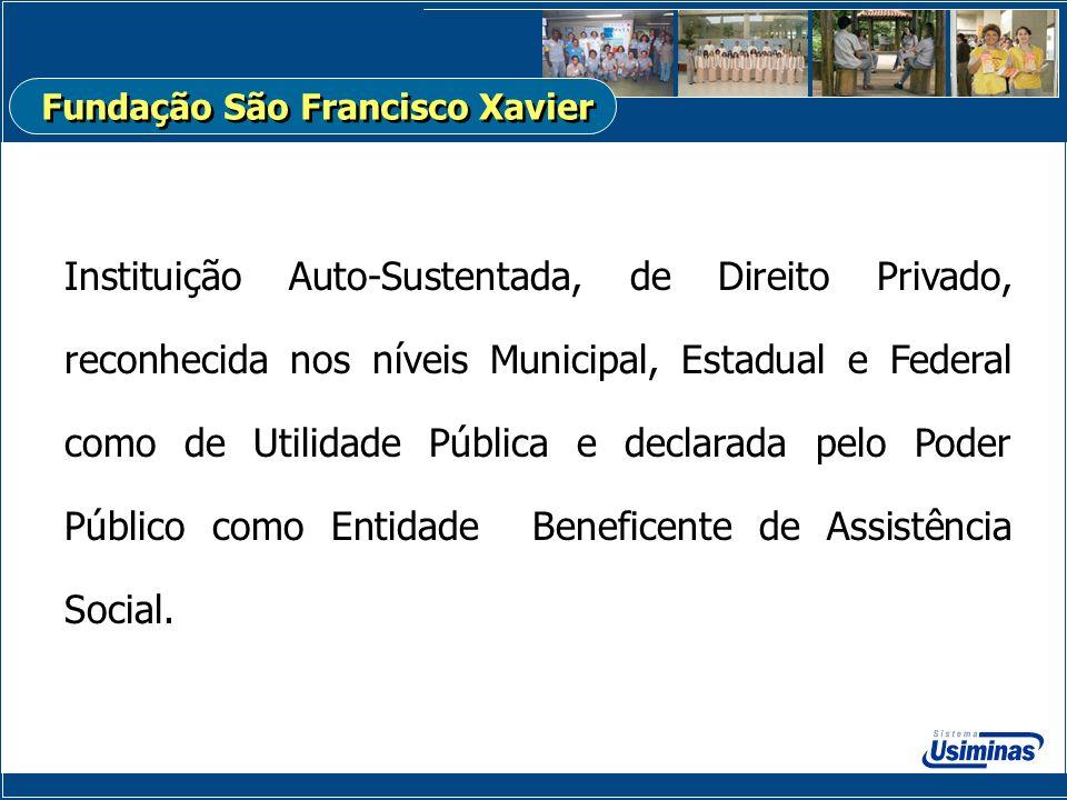 Instituição Auto-Sustentada, de Direito Privado, reconhecida nos níveis Municipal, Estadual e Federal como de Utilidade Pública e declarada pelo Poder