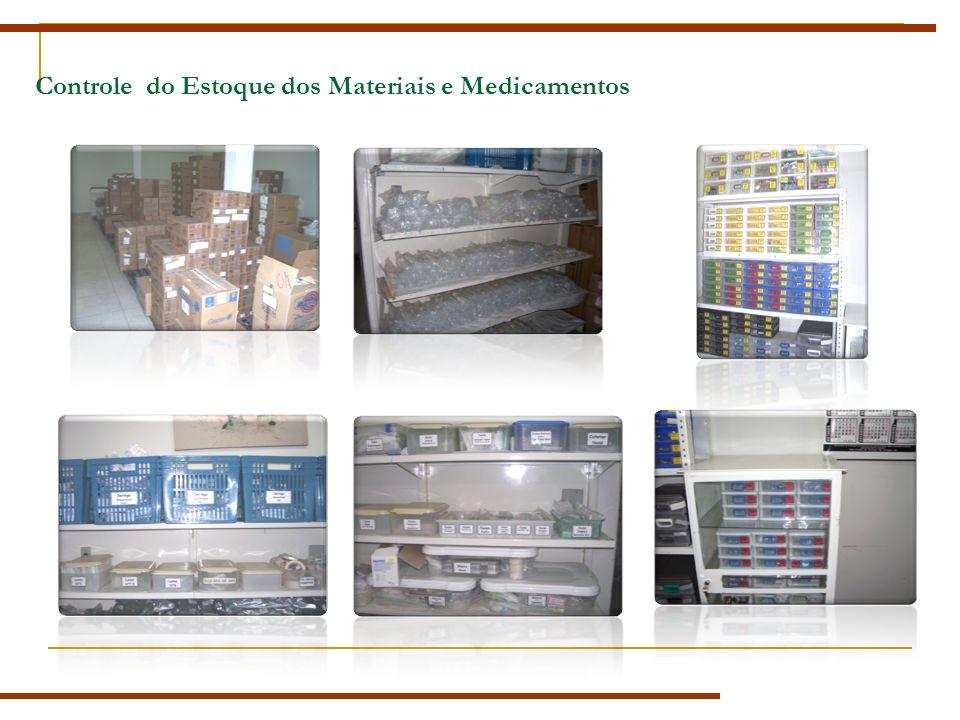 Controle do Estoque dos Materiais e Medicamentos