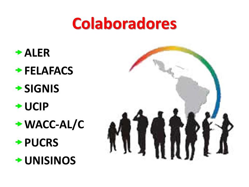 Colaboradores ALER FELAFACS SIGNIS UCIP WACC-AL/C PUCRS UNISINOS