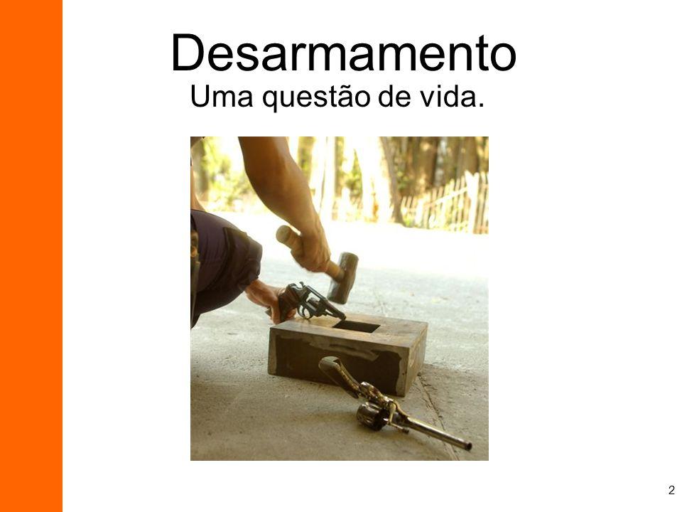 2 Desarmamento Uma questão de vida.
