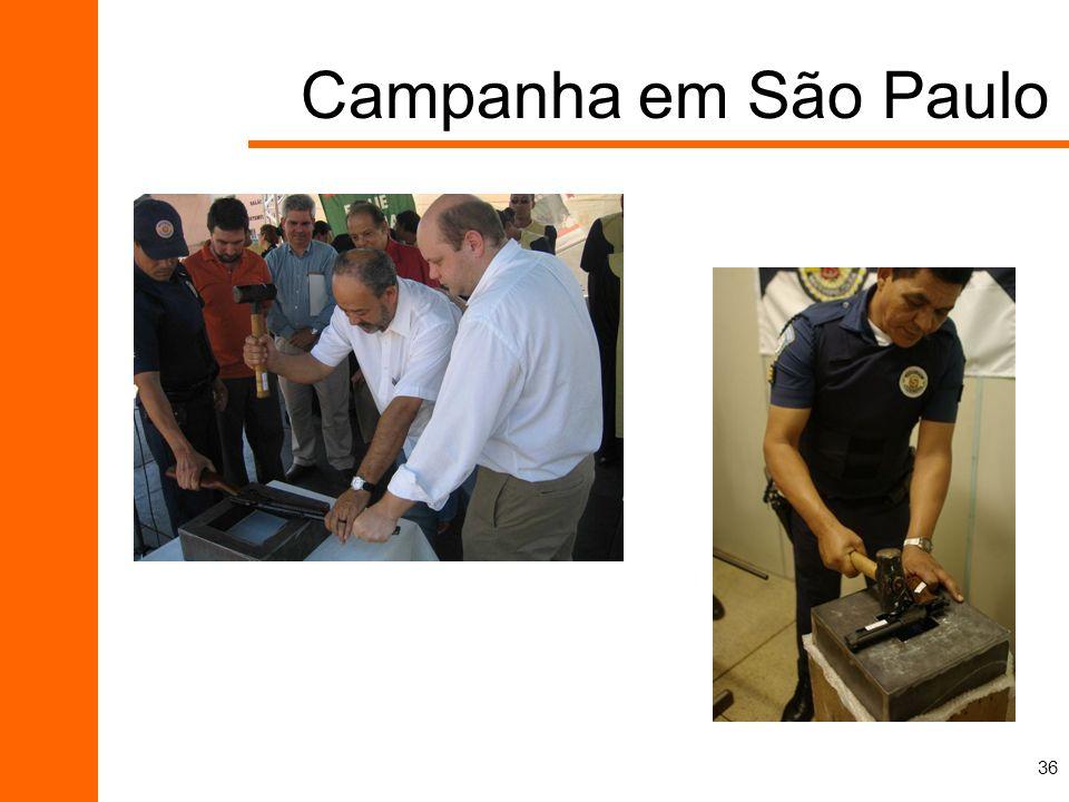 36 Campanha em São Paulo