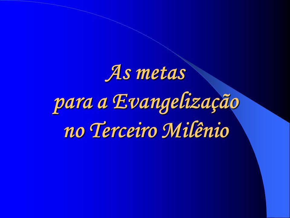 As metas para a Evangelização no Terceiro Milênio