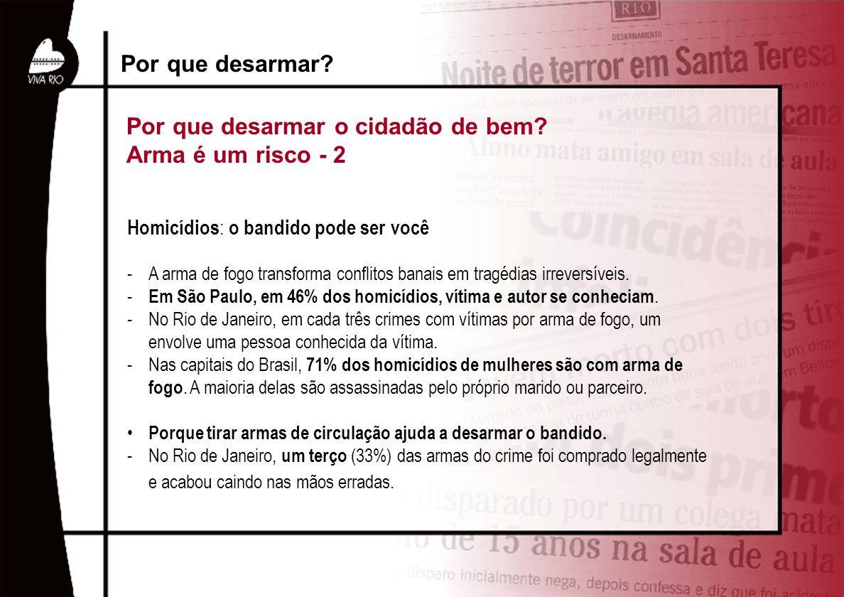 Homicídios : o bandido pode ser você -A arma de fogo transforma conflitos banais em tragédias irreversíveis. - Em São Paulo, em 46% dos homicídios, ví