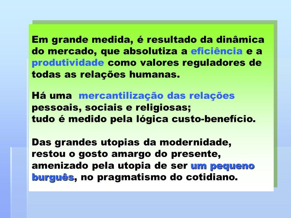 A midia contribui para a banalização da religião, não só reduzindo-a à esfera privada, como a um espetáculo para entreter o público.