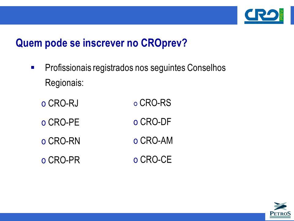 Quem pode se inscrever no CROprev.