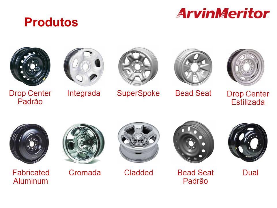 IntegradaDrop Center Padrão CromadaCladdedFabricated Aluminum Dual Drop Center Estilizada Bead Seat Padrão SuperSpoke Produtos Bead Seat