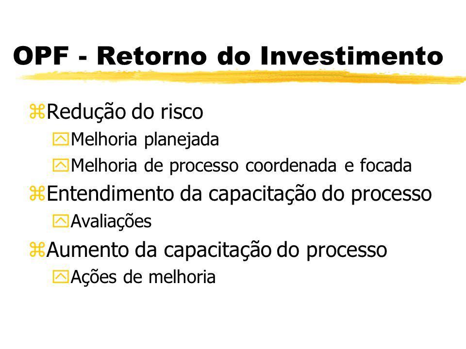 OPF - Gastos zRecursos SEPG ycoordenação, revisões, orientações, medições,...