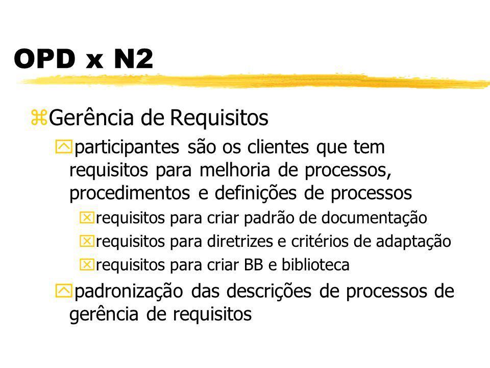 Definição do Processo da Organização - OPD