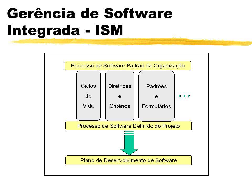 Gerência de Software Integrada Integrated Software Management - ISM