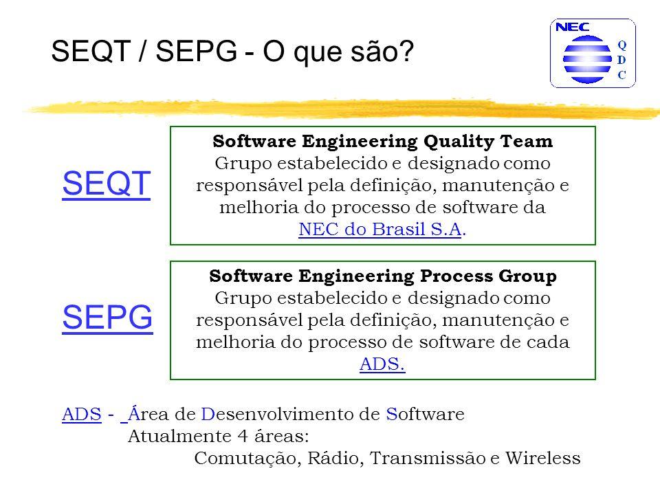 SEQT / SEPG - O que são.
