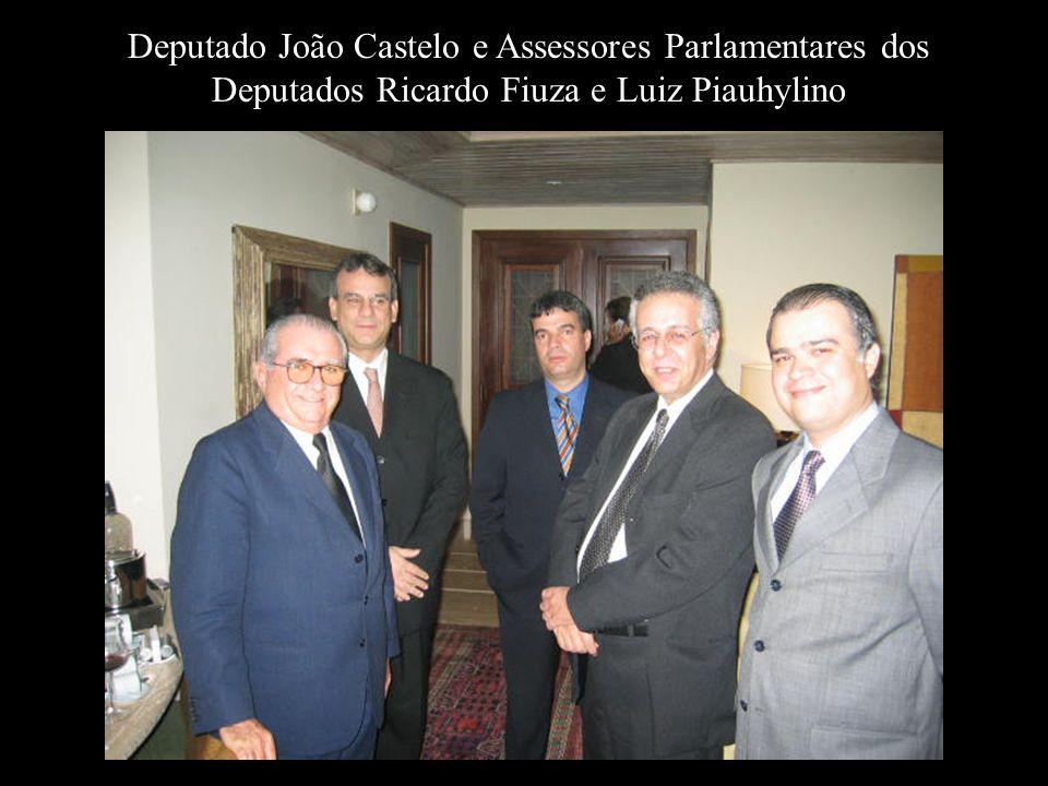 Dr. Marcelo Muriel, Dr. Rubens Aprobato e Dr. Luiz Piauhuylino Filho