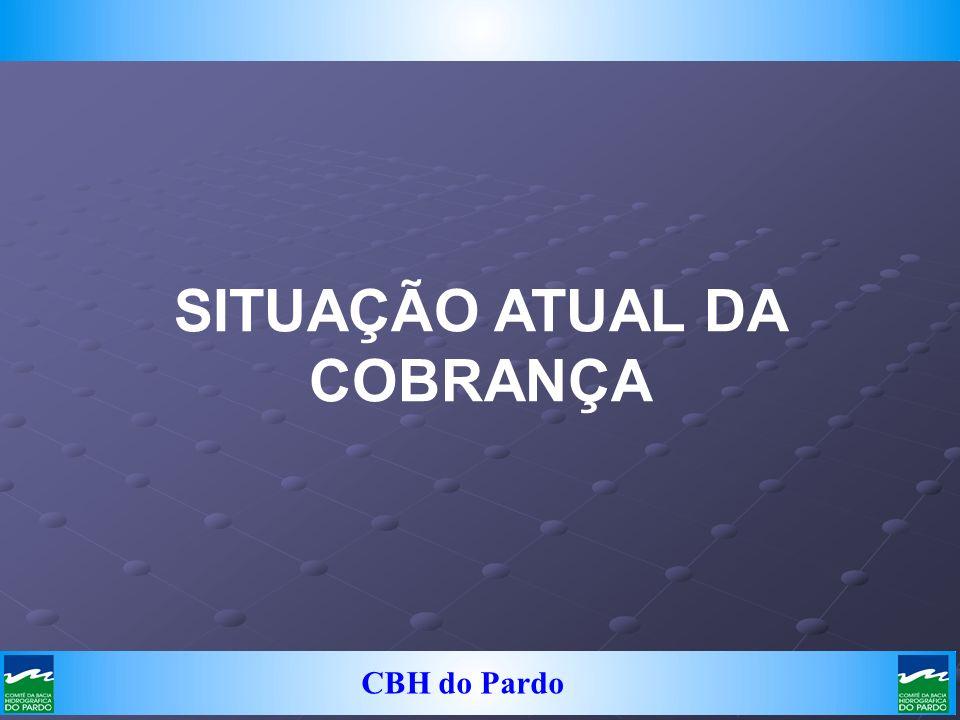 CBH do Pardo SITUAÇÃO ATUAL DA COBRANÇA
