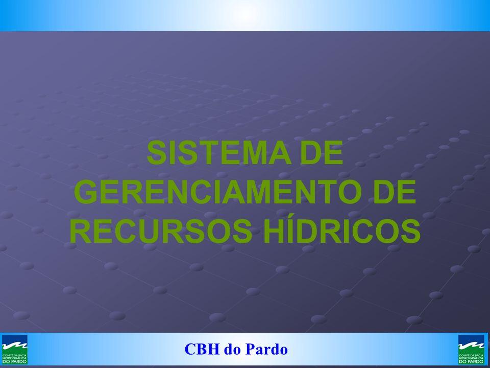 CBH do Pardo SISTEMA DE GERENCIAMENTO DE RECURSOS HÍDRICOS