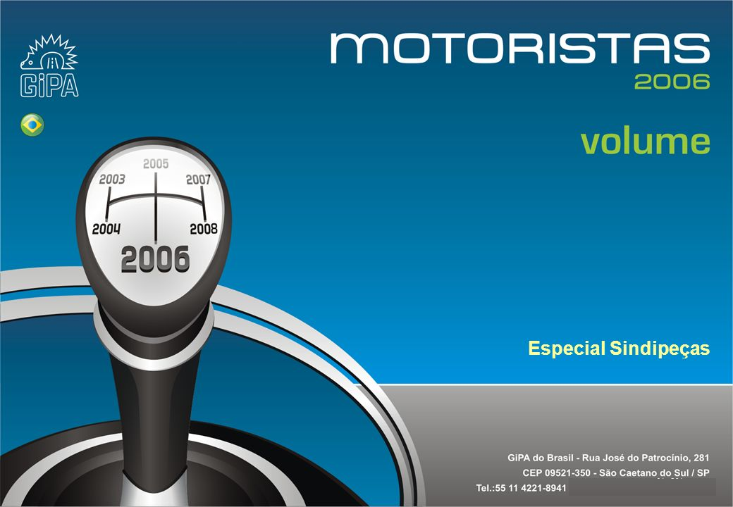 Etude conducteur 2005Copyright Gipa Brasil 212 Base : 3790 Estudo motoristas 2006Copyright Gipa Brasil 212 Copyright Gipa Brasil 212 8.5 Divisão das visitas segundo idade do carro