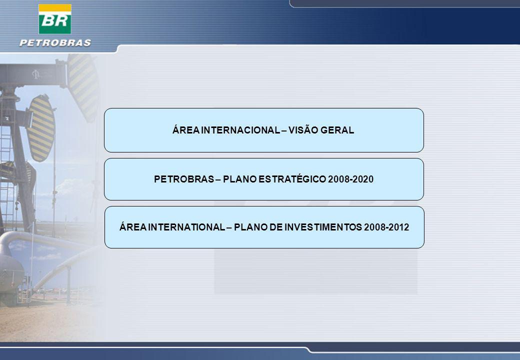 E&P COMERCIALIZAÇÃO SEDE ABASTECIMENTO GÁS & ENERGIA ESCRITÓRIO DE REPRESENTAÇÃO Atuação Internacional da Petrobras Visão Geral Atividades em 26 países Mais de 7.000 empregados no exterior
