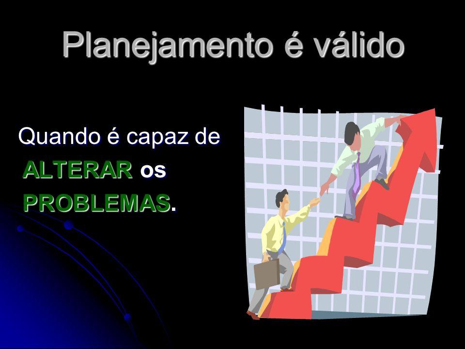 Planejamento é válido Quando gera resultado, AÇÃO. GOOOOLL!!!!