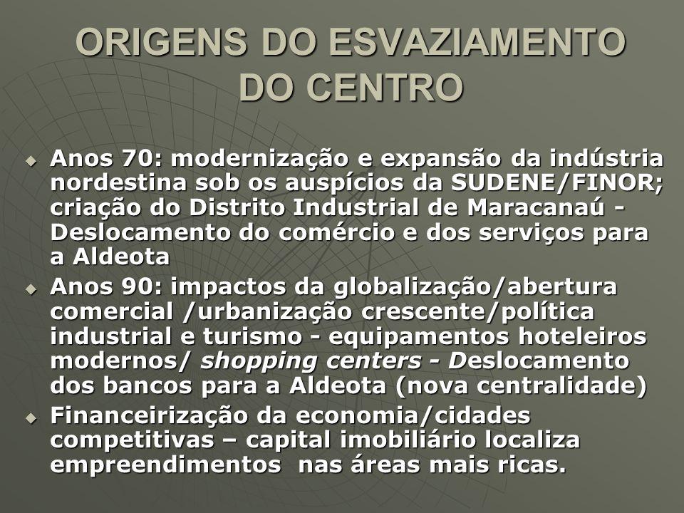 DEMANDA DE IMÓVEIS Preferência dos potenciais compradores de imóveis: Aldeota (20,7%), Bairro de Fátima (9,6%), Parquelândia (7,5%), Cidade dos Funcionários (6,0%) e Montese (6,0).