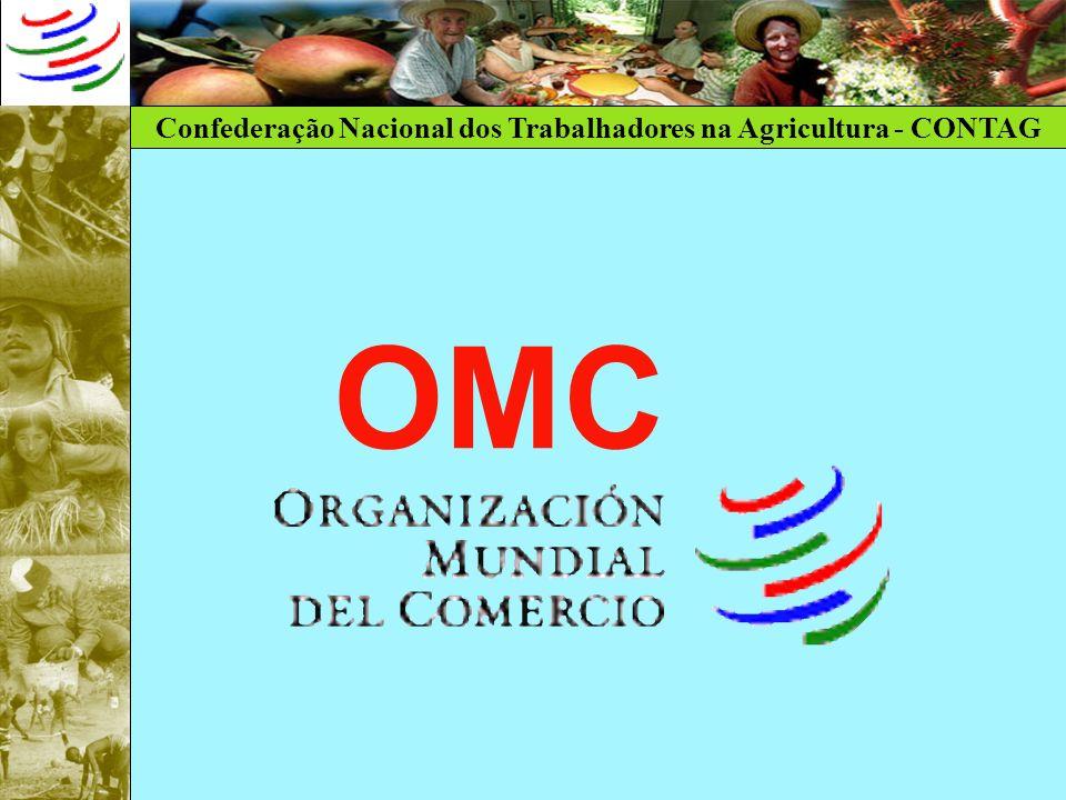 Confederação Nacional dos Trabalhadores na Agricultura - CONTAG Qual o tema mais importante na OMC?.