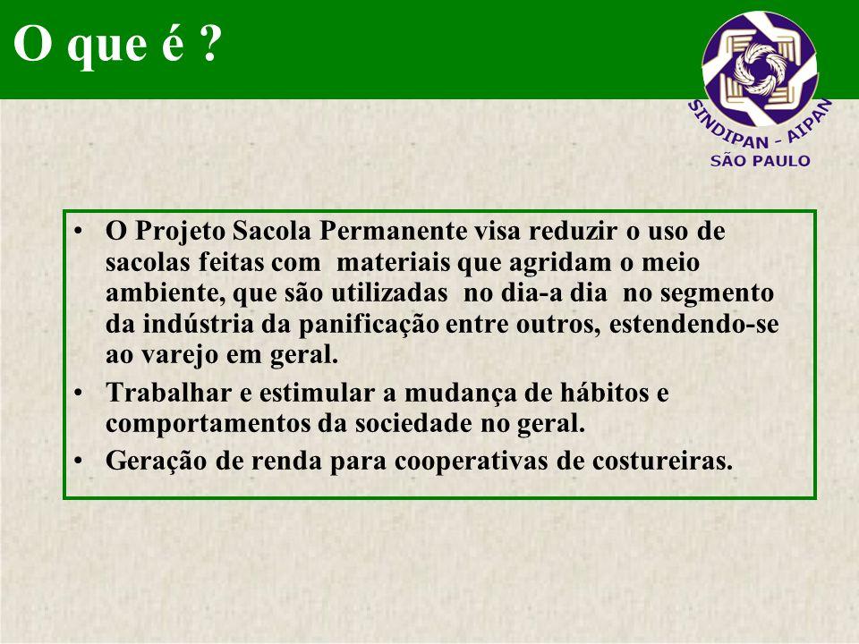 O projeto deve sensibilizar os associados da entidade assim como toda a comunidade, escolas, padarias não associadas e todo o varejo em geral.