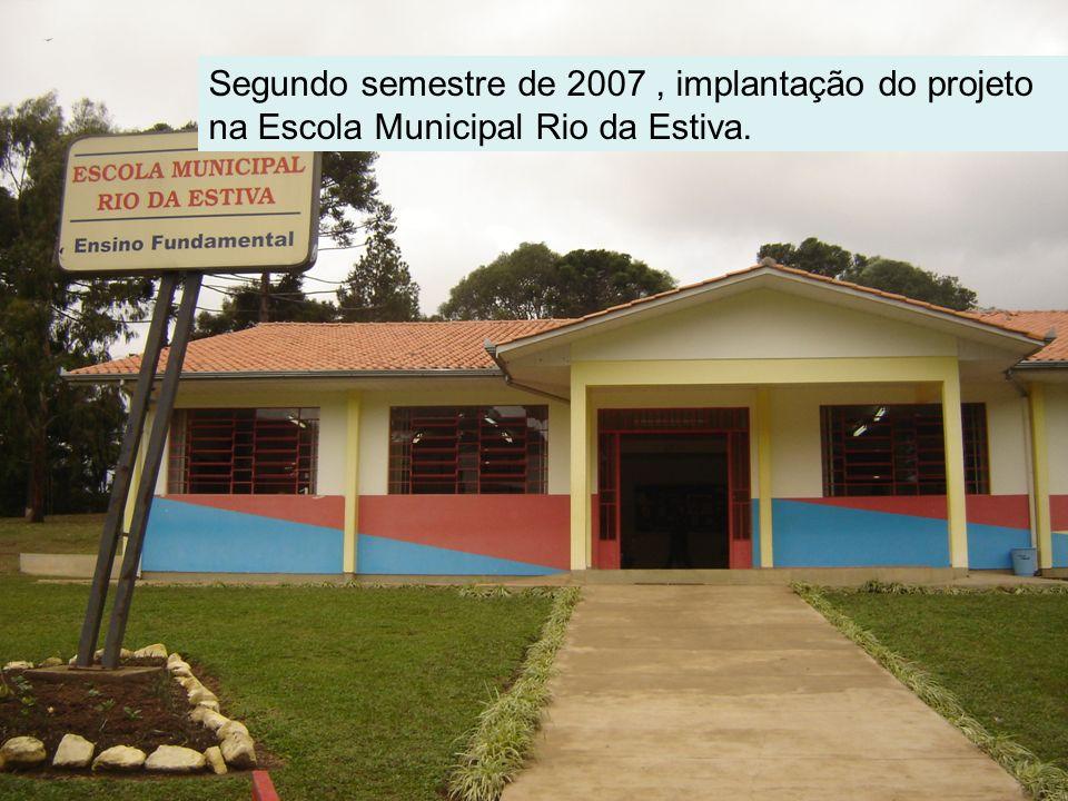 Reforma na Escola Secção Schneider para a implantação Escola Agrícola em 2008.