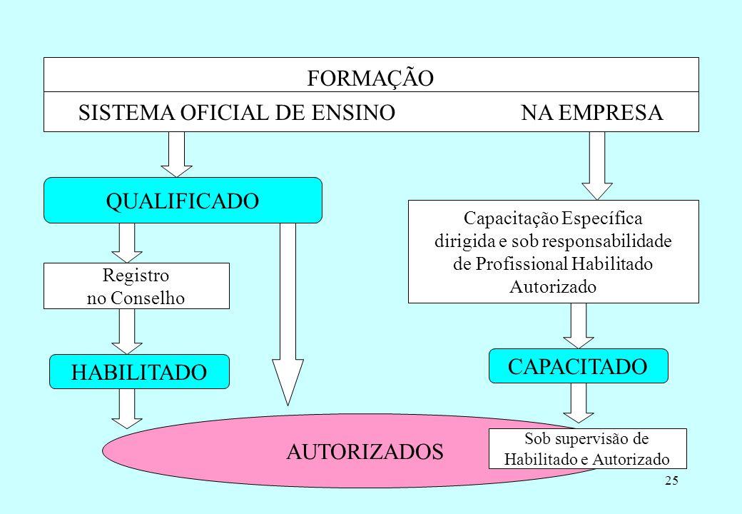 Prof. Martins/0724 10.8.8.1 A empresa concederá autorização na forma desta NR aos trabalhadores capacitados ou qualificados e aos profissionais habili