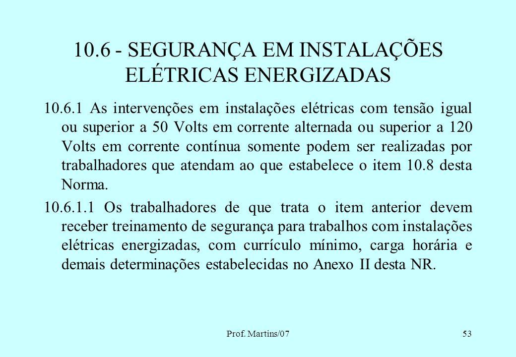 Prof. Martins/0752 10.5.3 As medidas constantes das alíneas apresentadas nos itens 10.5.1 e 10.5.2 podem ser alteradas, substituídas, ampliadas ou eli