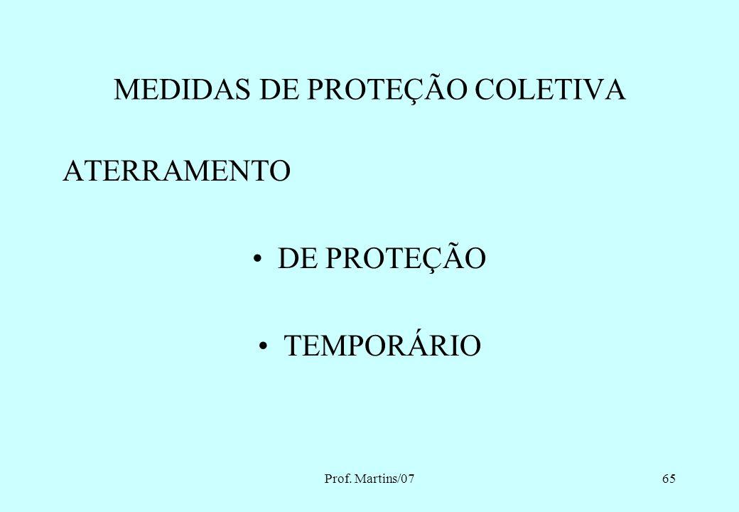Prof. Martins/0764 APROXIMAÇÃO DAS ZONAS DE RISCO E CONTROLADA ZONA DE RISCO PERMITIDA PARA PROFISSIONAIS AUTORIZADOS E COM ADOÇÃO DE TÉCNICAS E INSTR