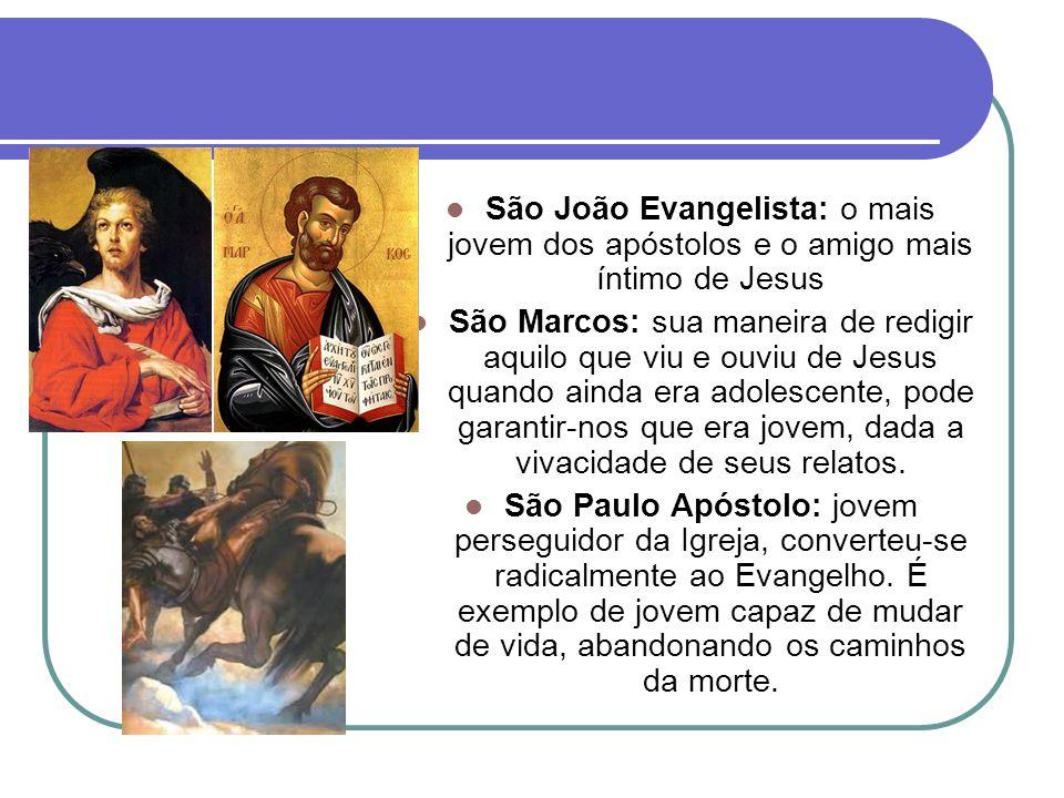 Jovens na história da Igreja Santa Inês: com apenas 13 anos foi decapitada com uma espada.