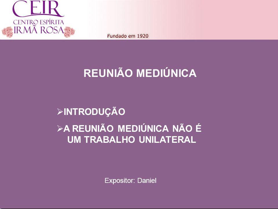 Título 1 Sub-Título 1 Título Principal Elaborado por: nome do autor Junho/2010 REUNIÃO MEDIÚNICA INTRODUÇÃO A REUNIÃO MEDIÚNICA NÃO É UM TRABALHO UNIL