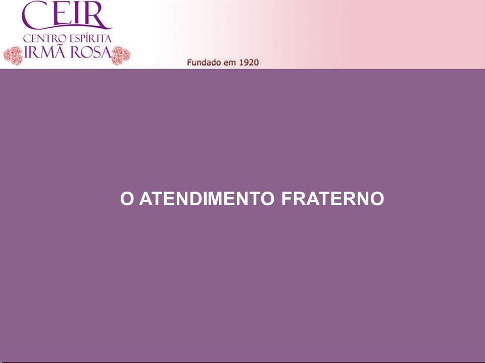 Título 1 Sub-Título 1 Título Principal Elaborado por: nome do autor Junho/2010 O ATENDIMENTO FRATERNO