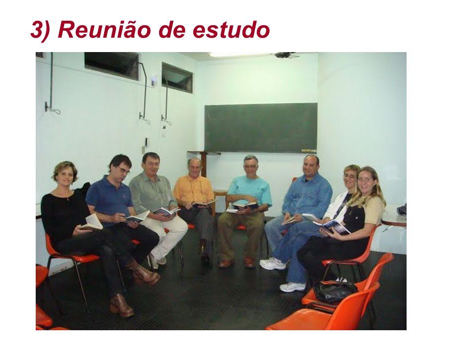3) Reunião de estudo