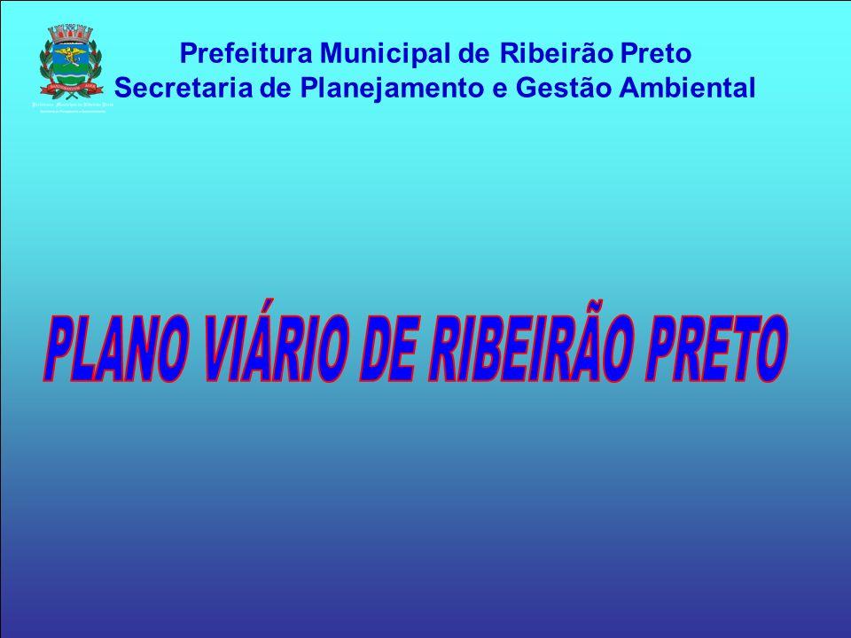 Prefeitura Municipal de Ribeirão Preto Secretaria de Planejamento e Gestão Ambiental