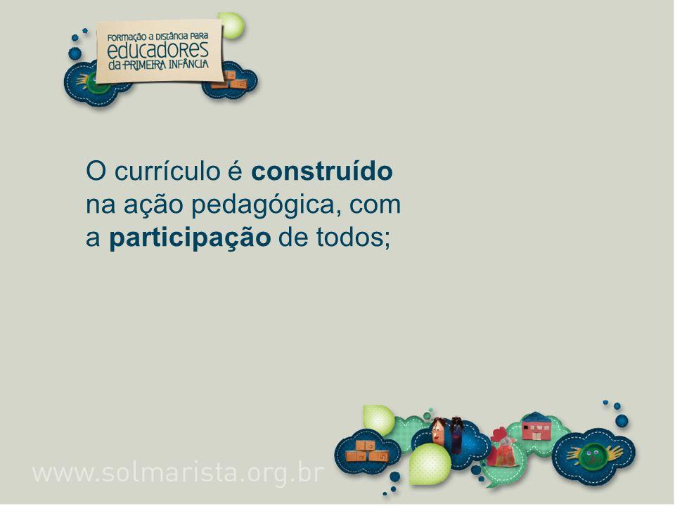 Práticas pedagógicas 4º módulo Carga horária: 70 h A relação entre adultos e crianças.