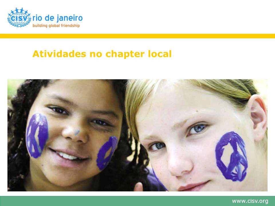 www.cisv.org Atividades no chapter local