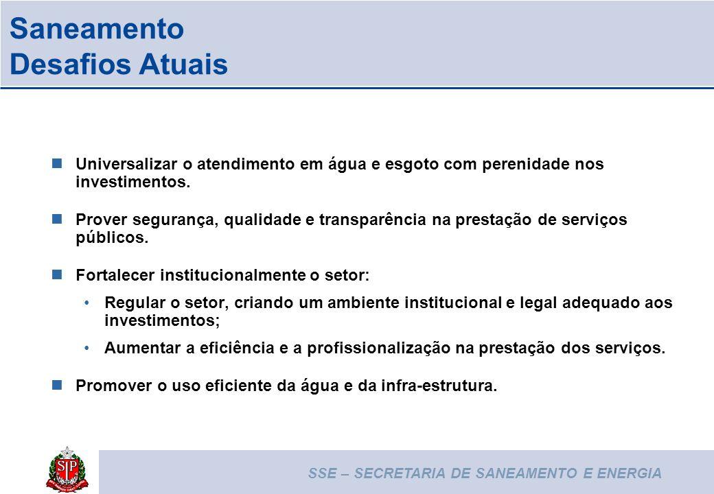 SECRETARIA DE SANEAMENTO E ENERGIA saneamento@sp.gov.br (11) 3218-6000 R.