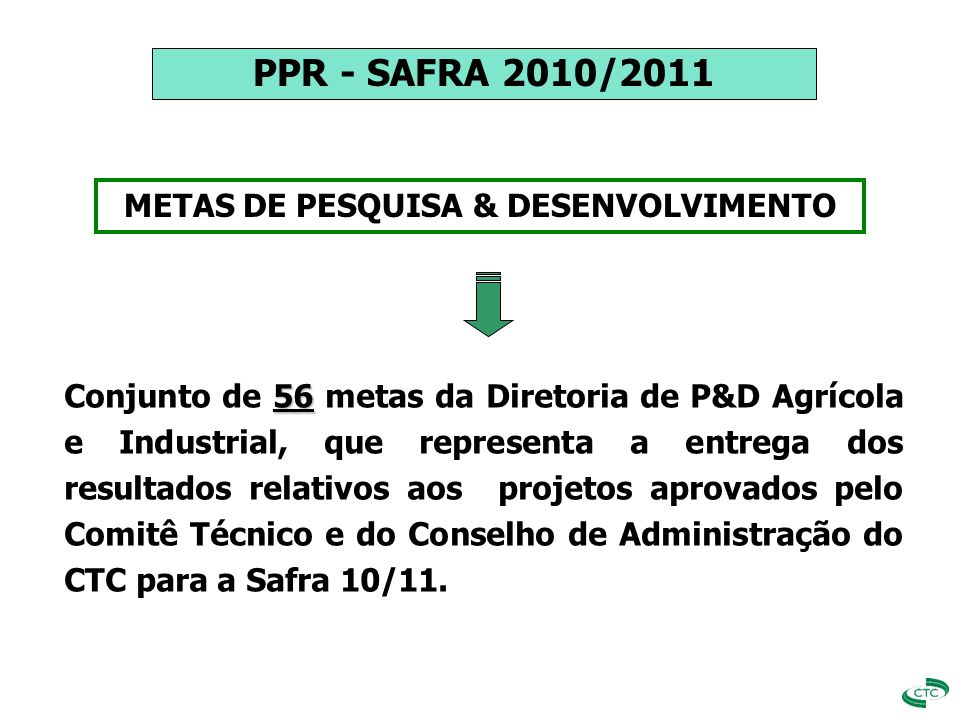 PPR SEGUNDO GATILHO METAS DE TODAS AS ÁREAS APURAÇÃO DOS RESULTADOS x
