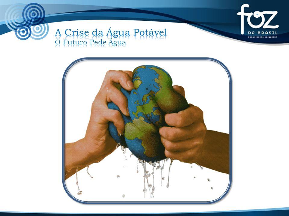 A Crise da Água Potável O Futuro Pede Água Mudanças Climáticas Crescimento Populacional Desafio Otimização da Gestão dos Recursos Hídricos Disponibilidade e Qualidade Tecnologias Disponíveis Políticas Públicas Voltadas para Investimentos em Conservação da Água Podem Evitar Crise Global