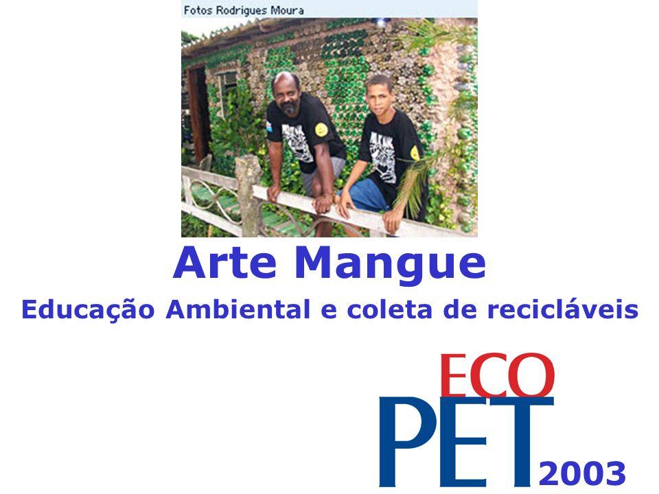 Arte Mangue Educação Ambiental e coleta de recicláveis 2003