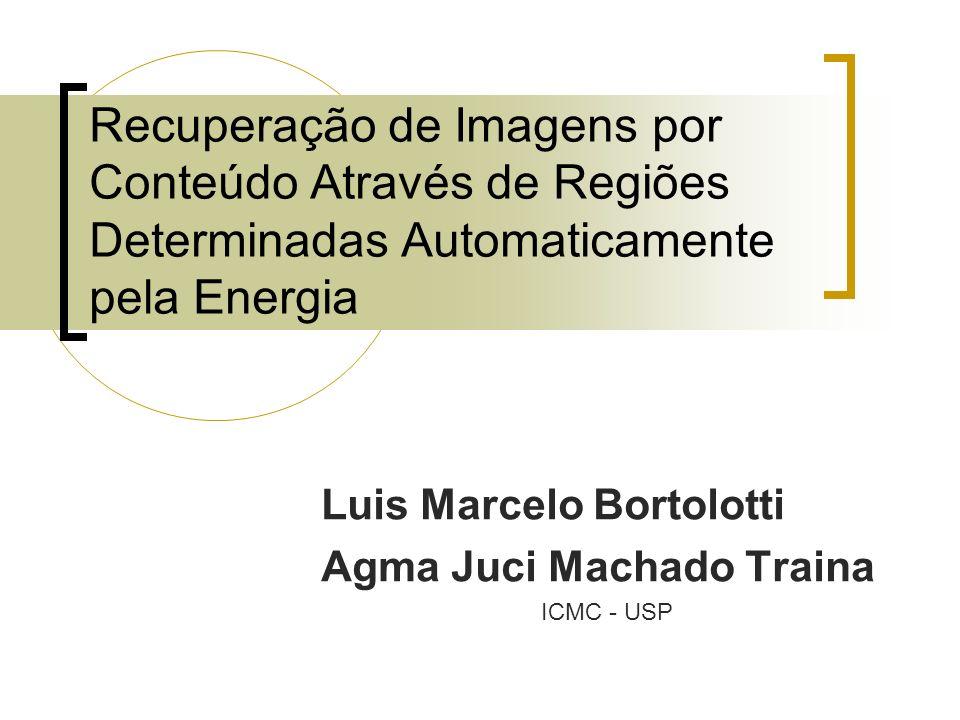 Recuperação de Imagens por Conteúdo Através de Regiões Determinadas Automaticamente pela Energia Luis Marcelo Bortolotti Agma Juci Machado Traina ICMC