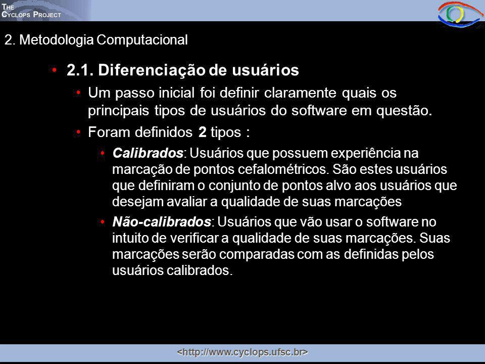 2. Metodologia Computacional 2.1.