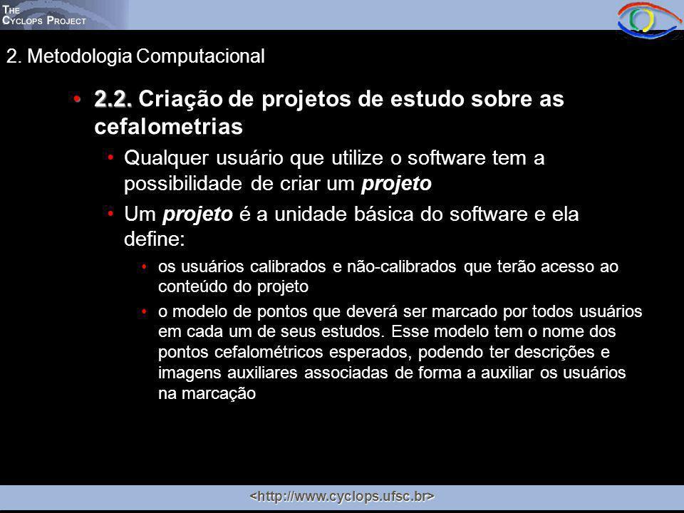 2. Metodologia Computacional 2.2.2.2.