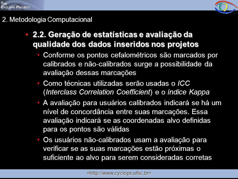 2. Metodologia Computacional 2.2.