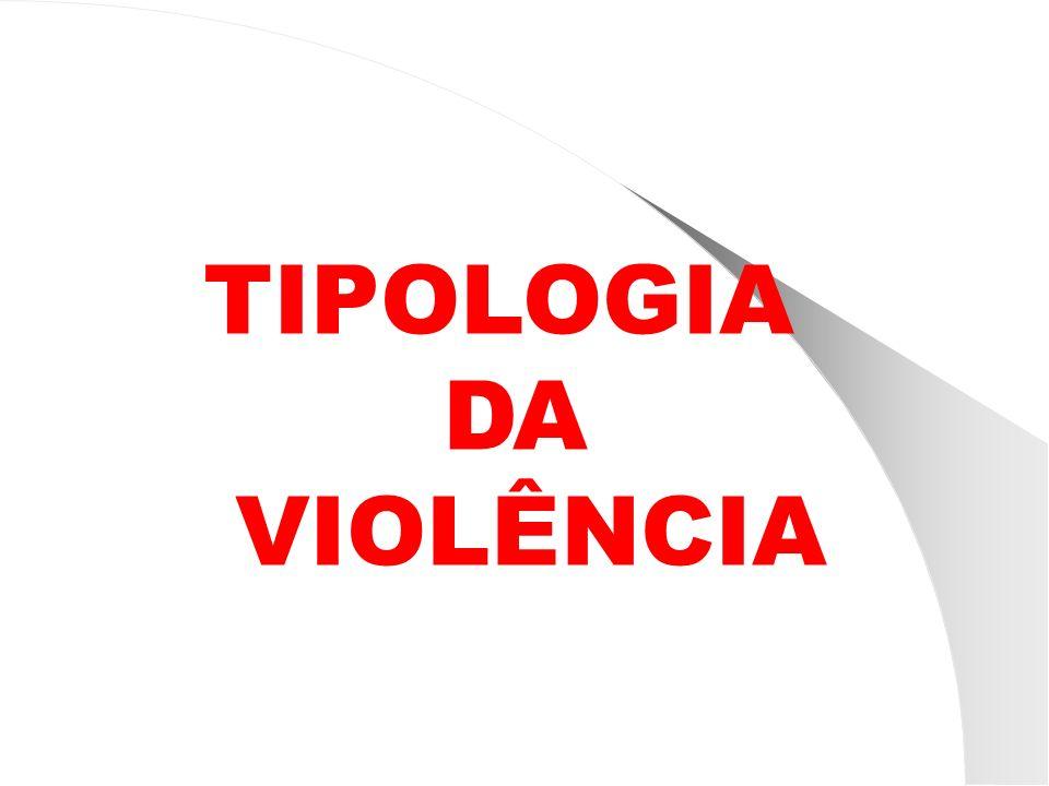 TIPOLOGIA DA VIOLÊNCIA