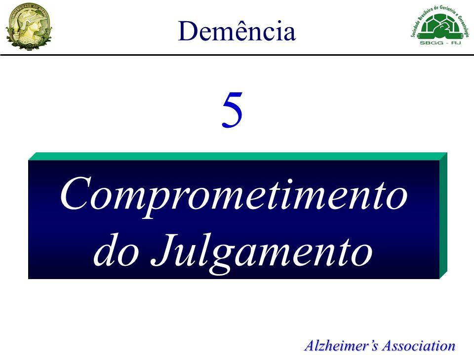 Demência 5 Comprometimento do Julgamento Alzheimers Association
