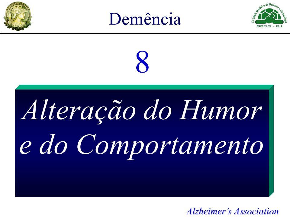 Demência 8 Alteração do Humor e do Comportamento Alzheimers Association
