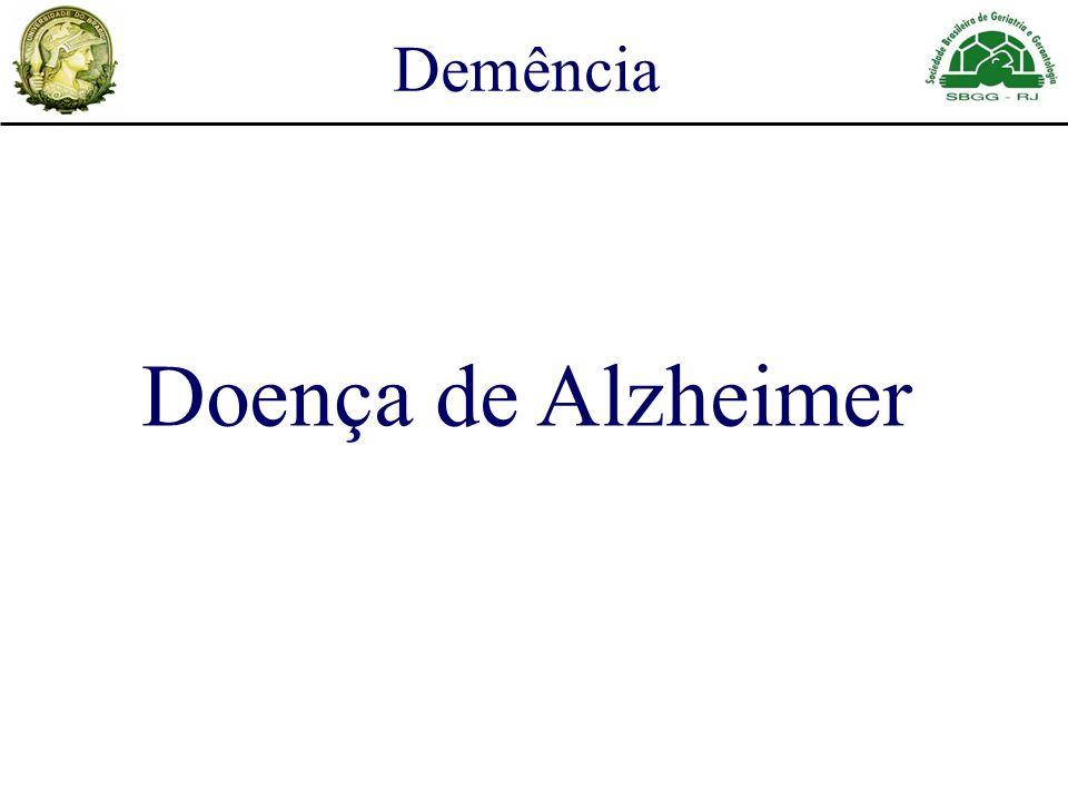 Doença de Alzheimer Demência