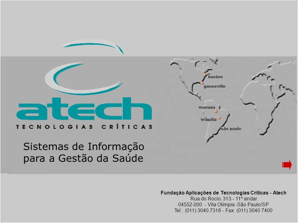 copyright © atech 2004 Visão Conceitual Usuário Grupo Permissão Autorização Aplicativo Perfil Ocupação Empresa Alçada